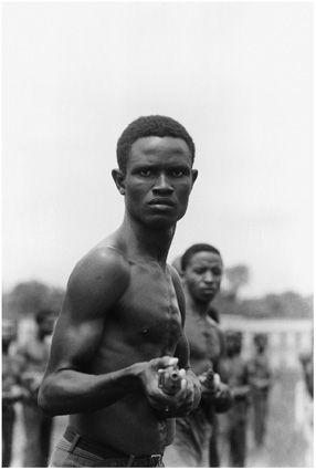Ibo trainees, civil war, Biafra, Nigeria, July 1968