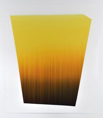 Claire Chesnier CCCIII, 2015 encre sur papier 153 x 132,5 cm.  courtesy l'artiste & Galerie du jour agnès b. crédits photo : Rébecca Fanuele