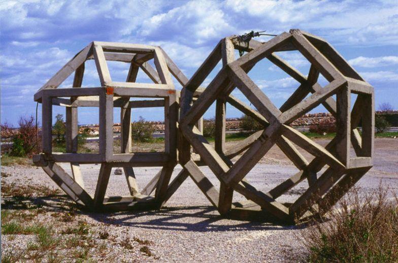 Raphaël Zarka, Les Formes du Repos n°1, 2001